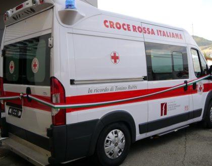 Ambulanza da soccorso per emergenza Alta Valle del Reno