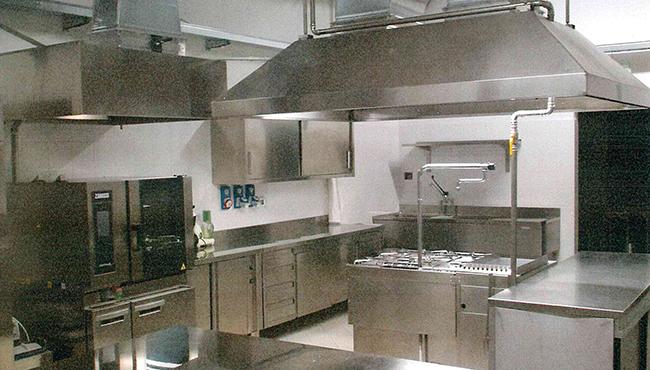 Ristrutturazione delle cucine del S. Vincenzo de' Paoli