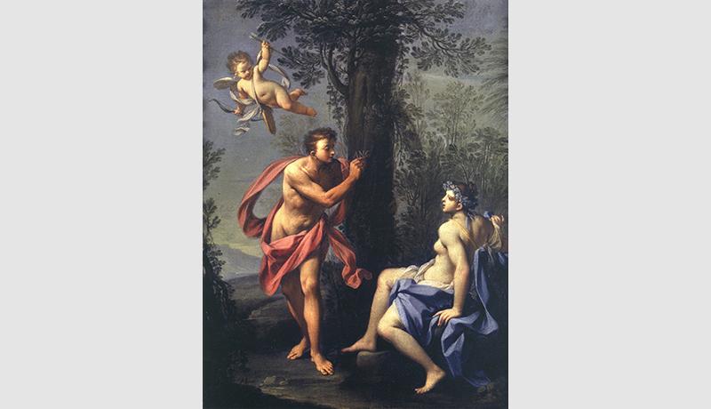 Ciro Maria Porroni Medoro incide sull'albero il nome di Angelica