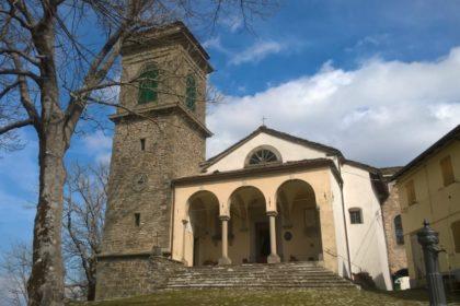 Restauro campanile della Chiesa di San Nicolò a Monteacuto delle Alpi