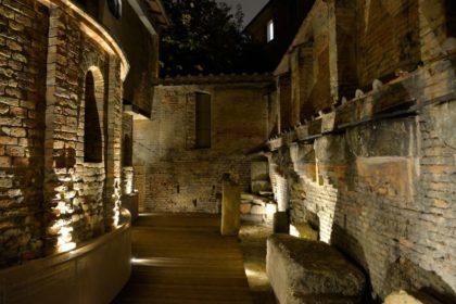 Restauro del percorso alla cripta romanica della Chiesa dei SS. Vitale e Agricola