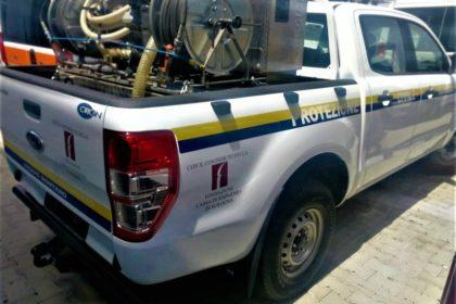 Nuovo automezzo Gruppo di Volontari Protezione Civile di Gaggio Montano
