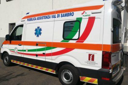 Acquisto nuova ambulanza Pubblica Assistenza Val di Sambro