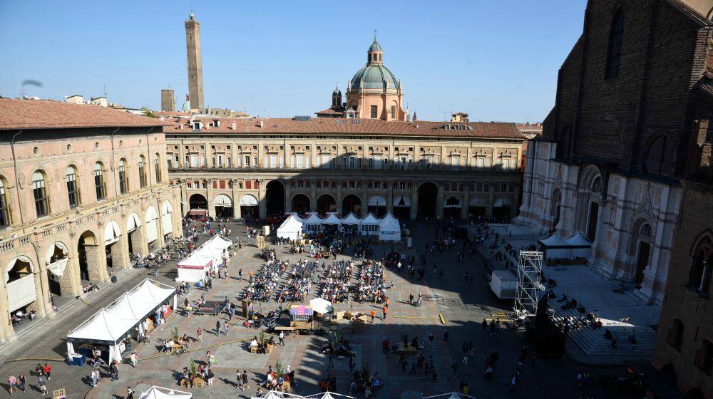a piazza, credit @Alberto Berti