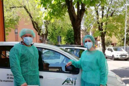 Covid-19: il sostegno della Fondazione ad ANT, in prima linea a casa delle persone malate di tumore