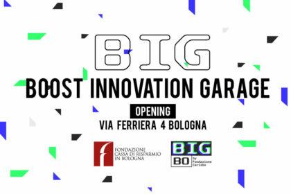 BIG – Boost Innovation Garage, inaugurato a Bologna il polo della Fondazione per contribuire ad accelerare lo sviluppo dell'ecosistema d'innovazione in città