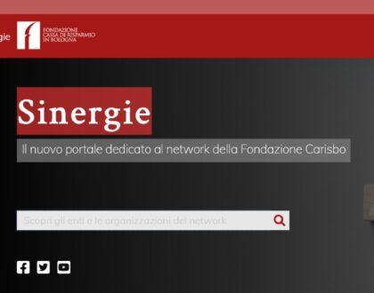 """Online """"Sinergie"""", il nuovo portale dedicato al network della nostra Fondazione"""