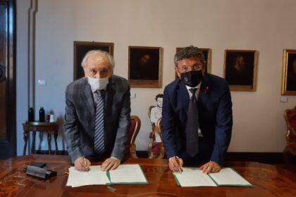 Ricerca di frontiera, sostenibilità, cultura: rinnovato l'accordo tra Fondazione Carisbo e Università di Bologna per il 2021